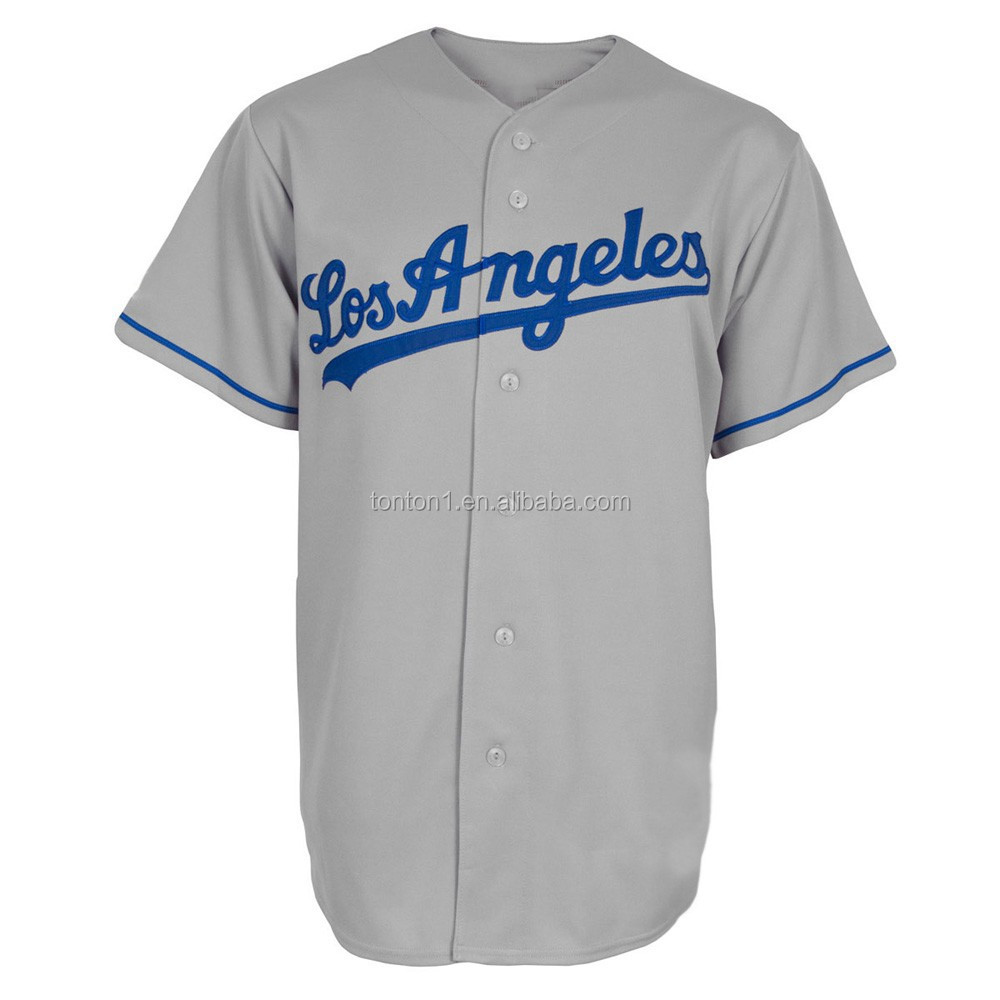 Cheap blank customize baseball jersey uniforms for wholesale