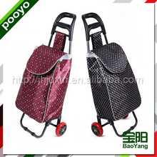 foldable shopping trolley heavyduty shelving system