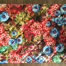 quilting fabric,100% polyester printing embroidered fabric for winter coat