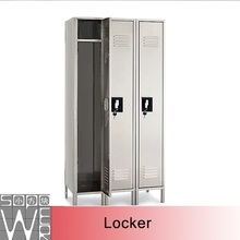 SOPOWER high quality with foot school 3 doors steel locker