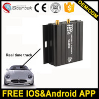 Free ISO and Android APP micro gps tracking device