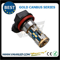 Whole sales 9005 8*3623 chips 550lm gold canbus auto fog light car light sticker