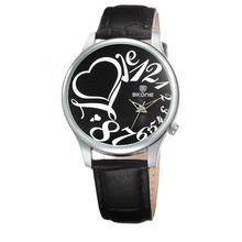 fashion girls skone 9162 lady wrist leather watch for women quartz diy watch face