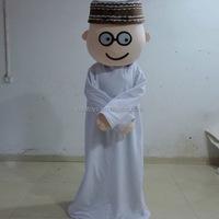 Hola middle east muslim costume/mascot costume