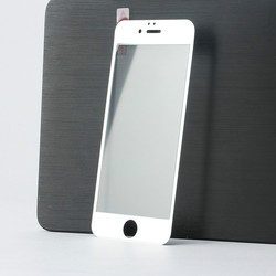 perfectly fit for iphone 6 screen protector with design,high quality 9H tempered glass screen protector