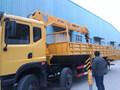 12 toneladas reta seções telescópica guindaste para venda internacional