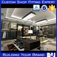 High Quality Clothing Store Furniture with ajustable shlves