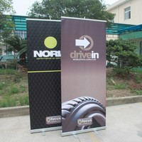 Display Stand Roll Up Banner Poster Board with Printing