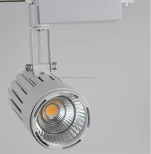 COB 230V Dimmable 30W 40w LED Track Spot Light for Living Room
