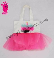 2015 hot selling kids canvas tote bag