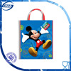 New fashion mickey-party-tote-bag plastic gift bag with handle