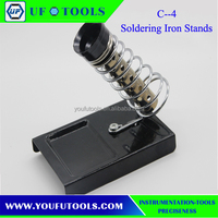 New Arrival C-4 Soldering Iron Support Stand Station W/ Metal Base Home DIY Electrical Safety Protecting Base