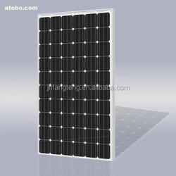Monocrystalline Silicon Material And Size :1956*992*50mm 300W Solar Panels for Home
