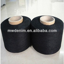 MW 20/1 black dyed knitting combed cotton denim yarn
