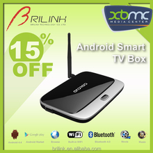2015 Cheapest XBMC Quad Core Smart Android TV Box Make your TV Smart, CRT TV Box 2GB RAM 8GB ROM with Bluetooth 4.0