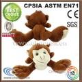 Muitos estilos animais tipos pequenos macaco de pelúcia brinquedos