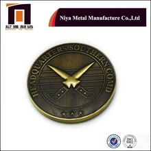 Round copper coin for souvenir and military coin/Challenge coin