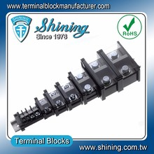 TE-060 35mm Din Rail Mounted 16mm 60A Low Voltage Cable Connector