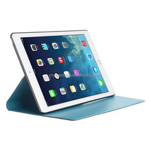 leather flip case for ipad air, various colors available