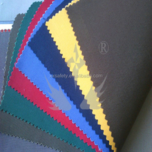 EN11611 certification 280gram 100 Cotton garment and industry used Fire Resistant Fabric