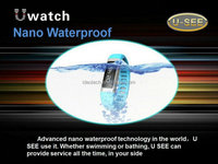 Android smart watch 0.91inch LCD screen TPU strap waterproof watch-phone bluetooth 4.0 support WIFI shockproof mini smartphone