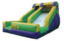 FRONT LOADING BACKYARD SLIDE, Slip N Dip Inflatable Wet/Dry Slide 2015