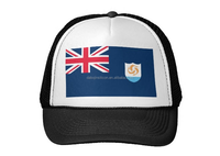 2015 Anguilla flag fashion cheap mini top hat