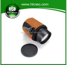 NEOpine genuine leather camera lens bag dslr camera lens pouch/case/bag