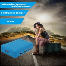6 Ports USB phone charger/6 USB smart charger/USB charger AK28