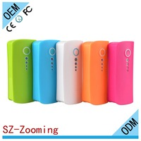 Z-355 Zooming ultra slim portable power bank sos power bank for cell phone hot sell portable power bank charger