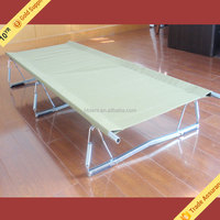 Newest Polycotton Canvas Stretcher For Army, Folding Outdoor Camping Bed