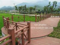 welcome models wood plastic composite outdoor furniture/wpc decking floor/timber