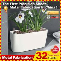 2014 new fashionable hot sale customzied home goods flower pots with 32 years experience