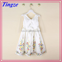 2015 New arrival Europe and America popular fashion cinderella flower girl dress TR-C02