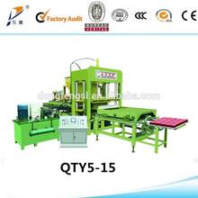 Qt5-15a machine céramique / verrouillage pavés de prix / moule pour paving blocks
