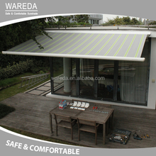 Motor control graden awning balcony awning with strong arm