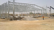 easy assembly design steel structure truss fabrication shed design