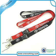 new eco-friendly custom printed mobile phone lanyard with cell clip