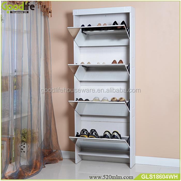GLS18604mirror shoe cabinet-6