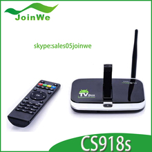 2014 Quad Core 16GB ROM cs918s android tv box skype full loaded