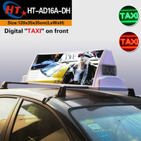 Advertising light boxes led taxi signs for sale