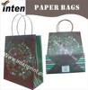paper handle luxury paper bag with custom printing