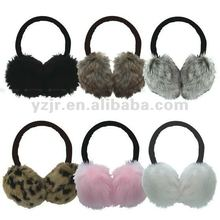 winter knitted earmuffs