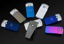 Color Design Men's mode sports Smart new arc charging windproof lighter USB cigarette lighter