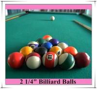 2 1/4 size billiards ball set Pool ball set