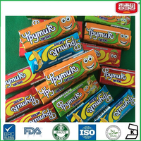 Wholesale bubble gum with tattoo Chinese Chewing Gum Manufacture