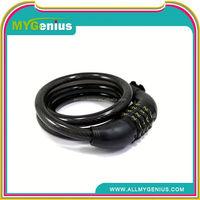 Y093 Universal bicycle MTB mountain bike lock anti-theft ring wire rope lock