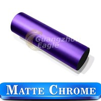 0.14mm Purple Matte Metallic Vinyl Peel Off Stickers