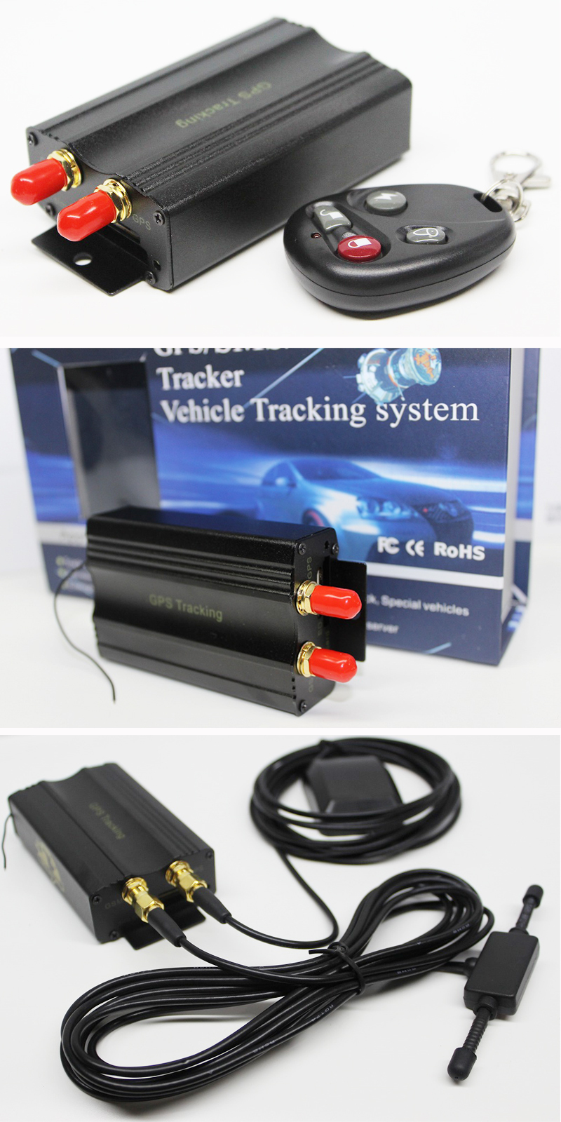 Tracking Devices For Cars Best Buy >> Best prcie gps tracking devices for machine /vehicle /car free gps car tracker GPS TK103B