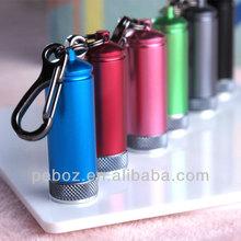 25 lumens led keychain light and mini flashlight
